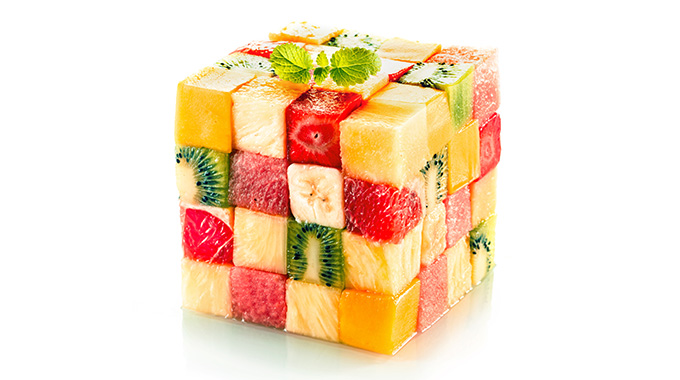 owoce - witaminy na suchą skórę
