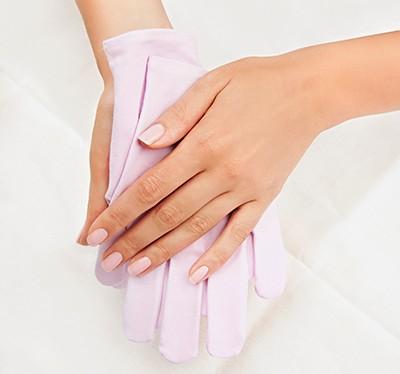 Rękawiczki pielęgnujące