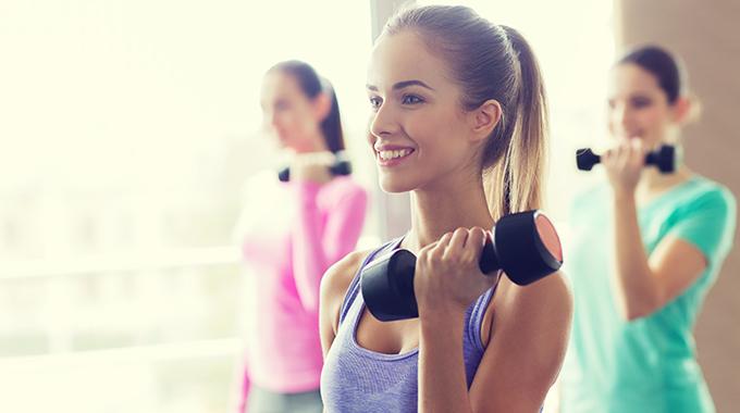 makijaż na fitness