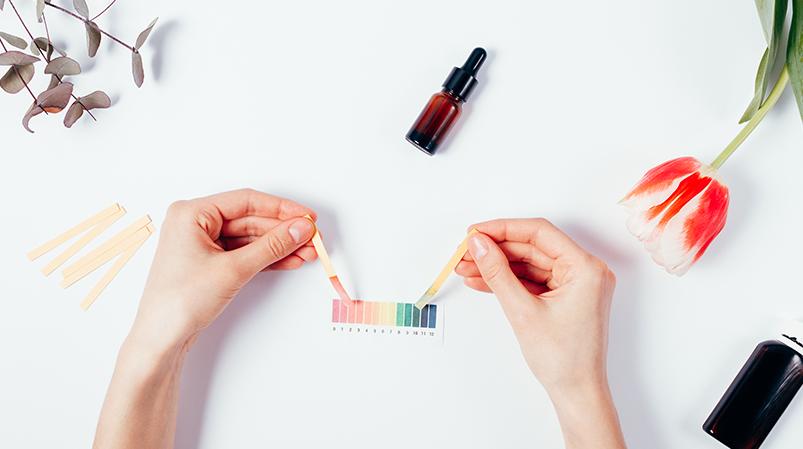 pH skóry